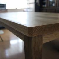 ダイニングテーブル、家具、無垢、滋賀