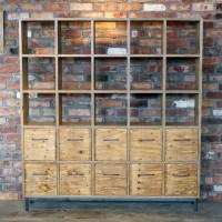構造用合板、ラーチ合板、針葉樹合板、棚、シェルフ、格子、什器