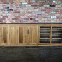 カップボード、食器棚、無垢