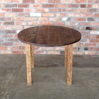 ラウンドテーブル、丸テーブル、無垢、古材